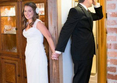 Groom to see Bride in Gown for first time