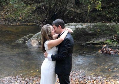 Kissing at Creek